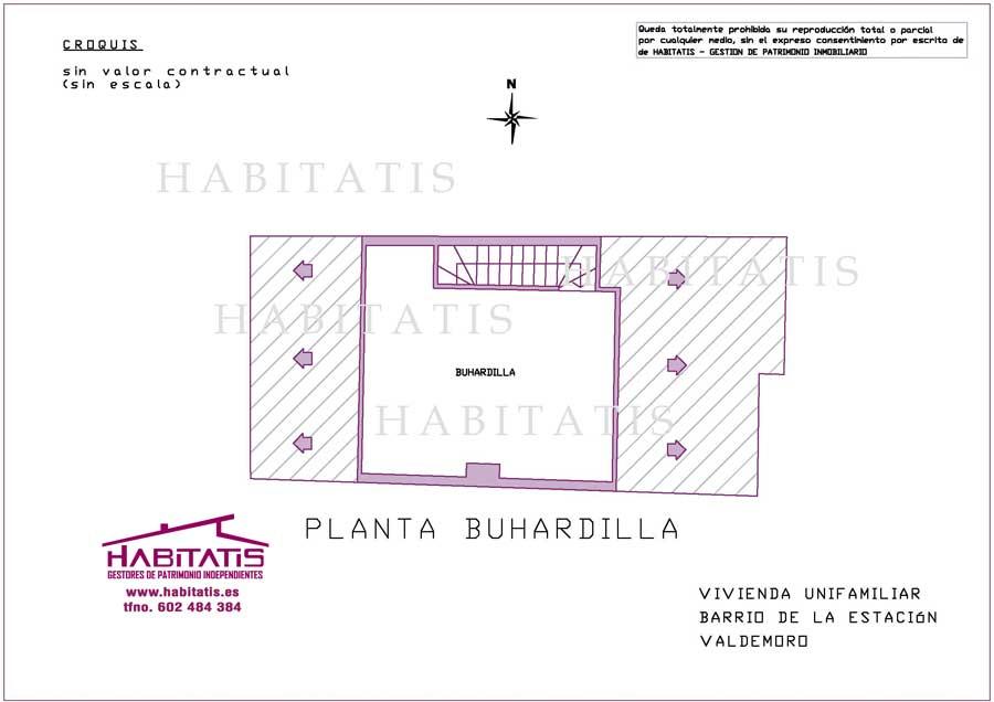 Planta Buhardilla - PULSAR